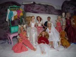 robes barbie, fait main, pull barbie,